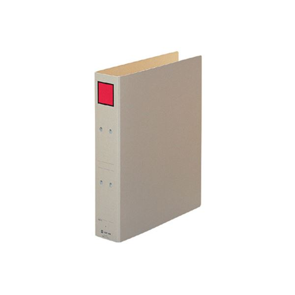 (まとめ) キングジム 保存ファイル A4タテ 500枚収容 背幅65mm ピクト赤 4375 1冊 【×30セット】