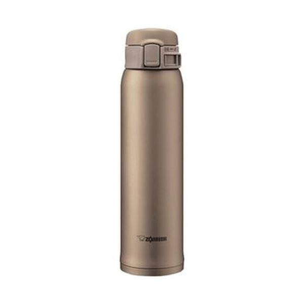 (まとめ)象印 ステンレスボトル SM-SE型60サイズ(0.60L)ベージュゴールド SM-SE60-NZ 1本【×3セット】