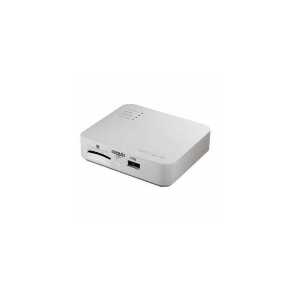 IOデータ Wi-Fi接続リーダー・ライター ポケドラ 11ac対応モデル ホワイト WFS-SR03W