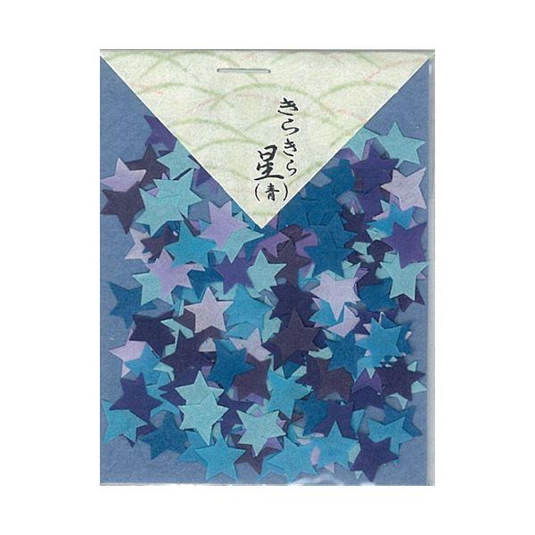 (まとめ)貼り絵 805046-0 きらきら星青【×30セット】