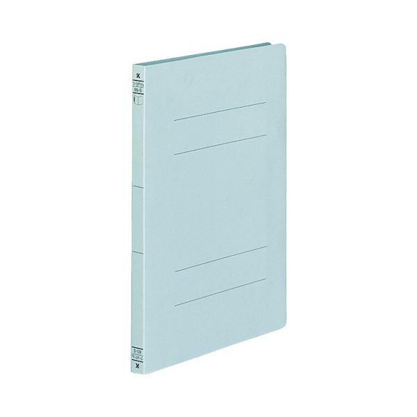 (まとめ)コクヨ フラットファイル(二つ折りタイプ)B5タテ 150枚収容 背幅18mm 青 フ-VF11B 1セット(10冊)【×5セット】