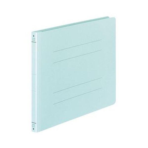 (まとめ)コクヨ フラットファイル(Yタイプ)A4ヨコ 150枚収容 背幅18mm 青 フ-Y15NB 1セット(20冊)【×5セット】