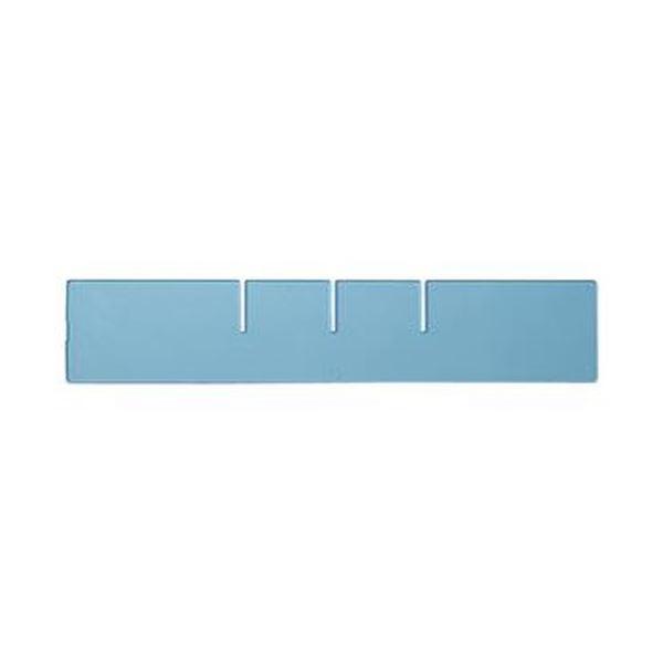 (まとめ)コクヨ レターケース(UNIFEEL)仕切板 深型縦仕切り 透明 LCD-UNAD2 1台【×50セット】