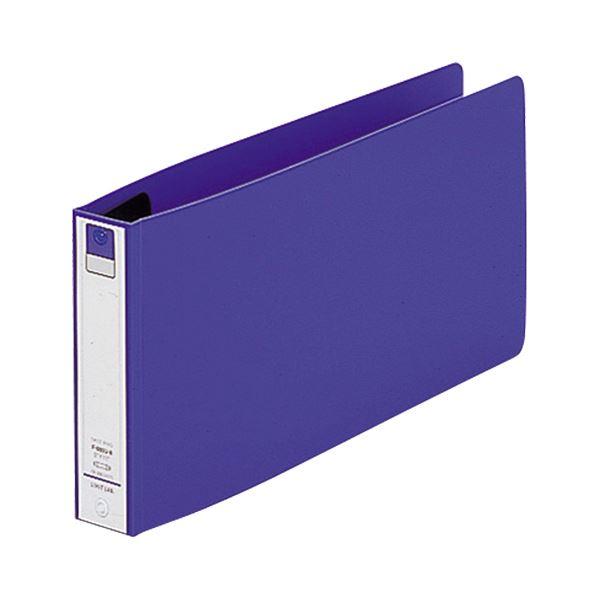 (まとめ) リヒトラブ Avanti リングファイル(カドロック&ツイストリング) 5×11ヨコ 2穴 200枚収容 背幅36mm 青 F-880U-8 1冊 【×30セット】