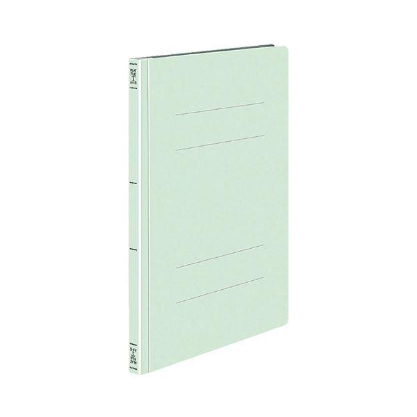(まとめ) コクヨ フラットファイルT A4タテ 150枚収容 背幅18mm 緑 フ-T10NG 1セット(10冊) 【×10セット】