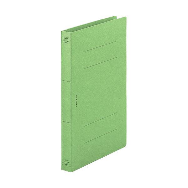 (まとめ) ライオン事務器 フラットファイル(AWタイプ) 厚とじ A4タテ 250枚収容 背幅28mm 緑 AW-519Sミドリ 1セット(10冊) 【×10セット】