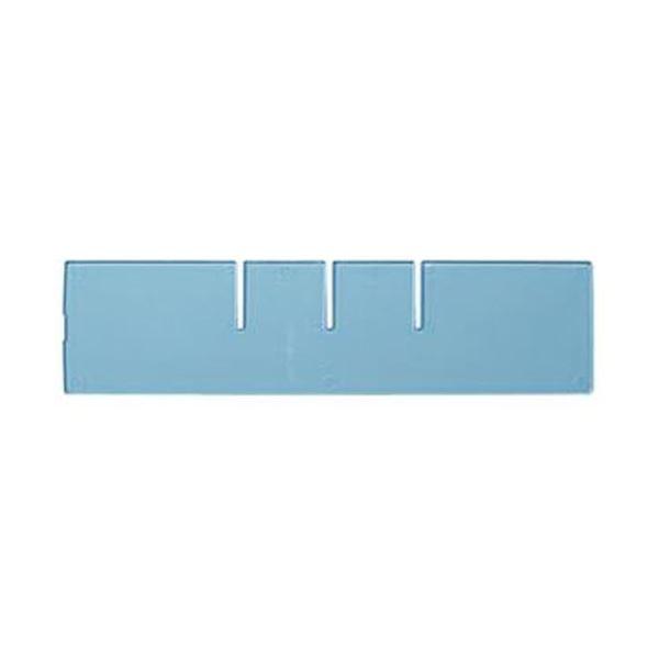 (まとめ)コクヨ レターケース(UNIFEEL)仕切板 深型横仕切り 透明 LCD-UNAW2 1台【×50セット】