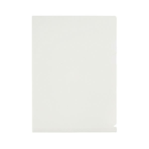 (まとめ) プラス シンプルワーク 仕切り付ホルダーA4 3ポケット ホワイト FL-111CH 1セット(10枚) 【×10セット】