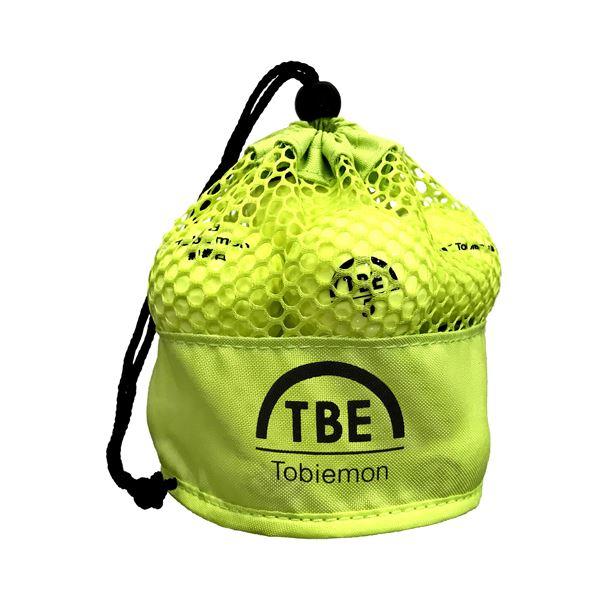 12個セット TOBIEMON 2ピース カラーボール メッシュバック入り イエロー TBM-2MBYX12