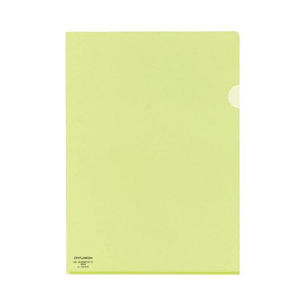 (まとめ) コクヨ クリヤーホルダースーパークリヤー10(テン) A4 ライトグリーン フ-TC750N-8 1セット(5枚) 【×30セット】
