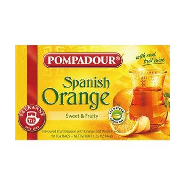 (まとめ)ポンパドール スパニッシュオレンジ2.2g 1箱(20バッグ)【×20セット】
