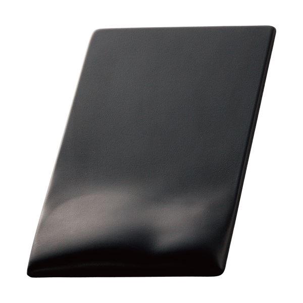 (まとめ) エレコム 疲労軽減マウスパッドFITTIO(Low) ブラック MP-115BK 1枚 【×5セット】