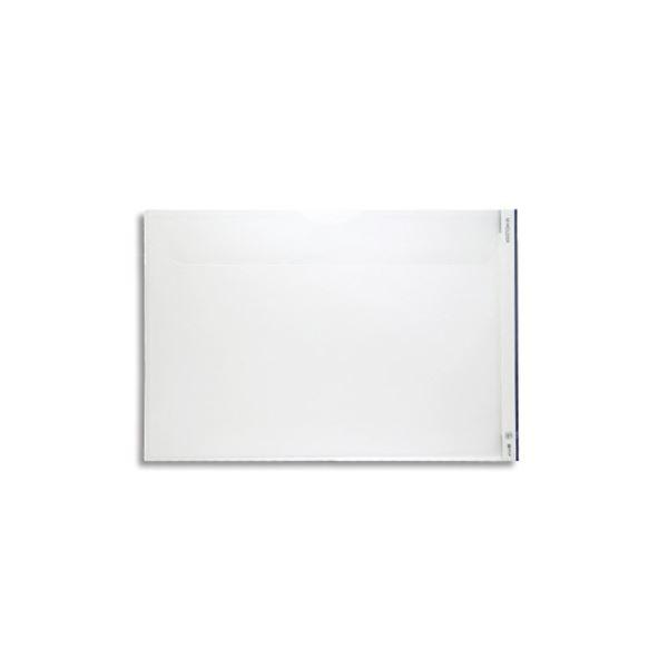 Mホルダー 753E A3ヨコ 【×10セット】 (まとめ) 乳白フタ付き キングジム 1セット(5枚)
