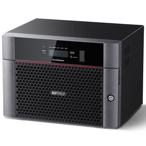 【スーパーSALE限定価格】バッファロー TeraStation TS5810DNシリーズ 10GbE標準搭載 8ドライブNAS48TB TS5810DN4808