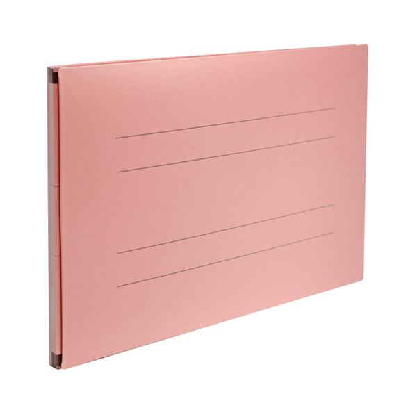 (まとめ) セキセイ のびーるファイル(エスヤード)PP貼り A4ヨコ 800枚収容 背幅17~97mm ピンク AE-51FP-PK 1冊 【×30セット】