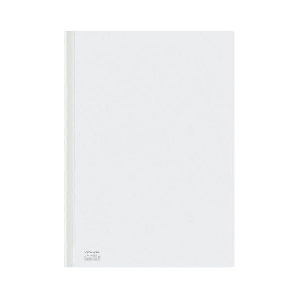 コクヨ レールクリヤーホルダー A4タテ20枚収容 白 フ-760NW 1セット(200冊)