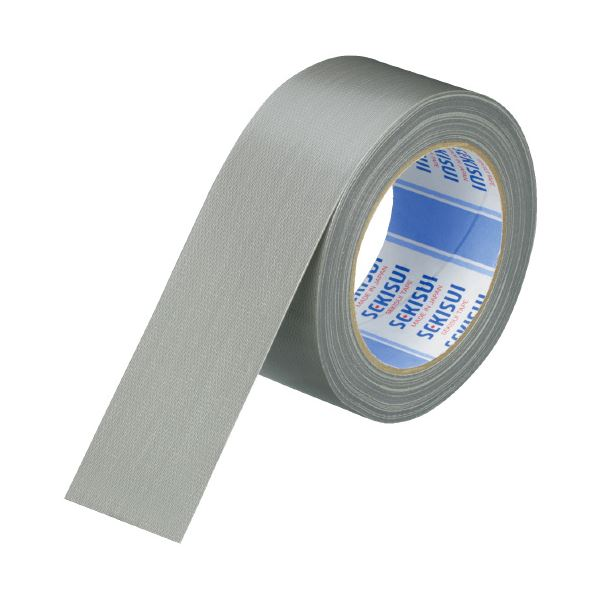 (まとめ)セキスイ 布テープ No600V N60GV03 50mm*25m 銀(×50セット)