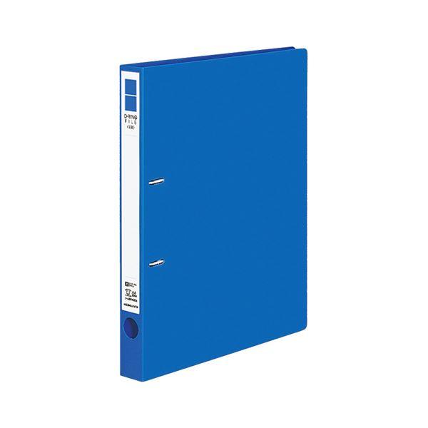 (まとめ) コクヨ Dリングファイル(ER) A4タテ 2穴 200枚収容 背幅34mm 青 フ-UDR420NB 1冊 【×30セット】