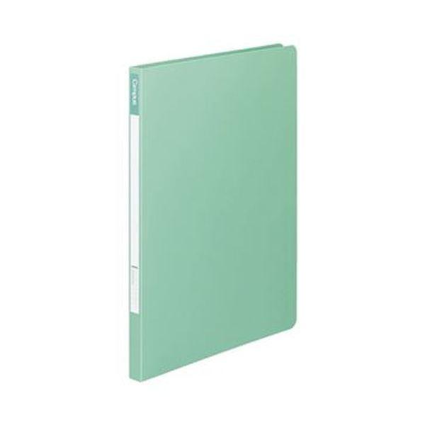 (まとめ)コクヨ キャンパスレバーファイル12(Z式)A4タテ 120枚収容 背幅18mm うす緑 フ-C320-5 1セット(10冊)【×3セット】