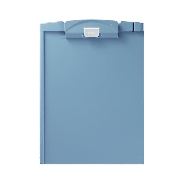 (まとめ) コクヨ クリップボードH A4タテ 青 ヨハ-H78B 1枚 【×30セット】