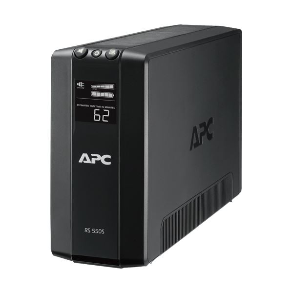 APC(シュナイダーエレクトリック)UPS 無停電電源装置 RS 550VA/330W BR550S-JP 1台