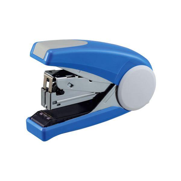 (まとめ) ライオン事務器 ステープラ かるホッチPOWER 45枚とじ ブルー FS-45 1個 【×10セット】