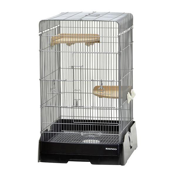 セットアップ スリムな37cm幅で高さのある小動物飼育ケージです イージーホーム 37ハイ BK 半額 ペット用品 ブラック