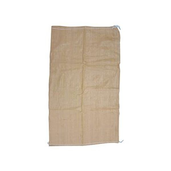 (まとめ)ユタカメイク 収集袋PP収集袋(ベージュ)60cm×100cm W-43 1パック(5枚)【×20セット】