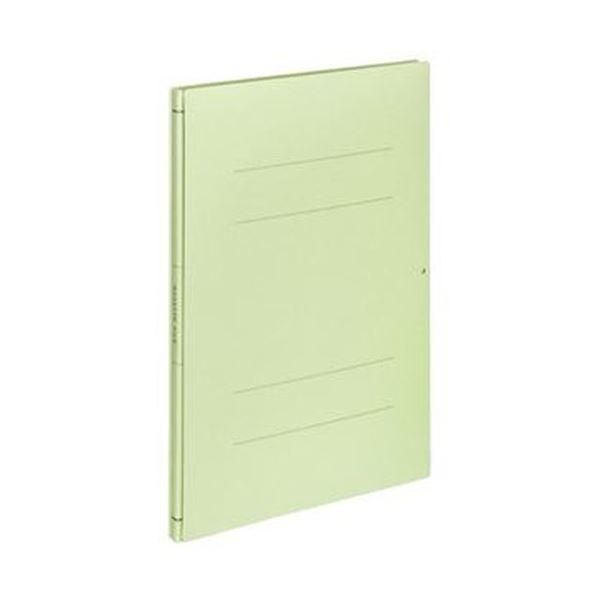 (まとめ)コクヨ ガバットファイル(間伐材使用)A4タテ 1000枚収容 背幅14~114mm 緑 フ-VK90NG 1セット(10冊)【×3セット】