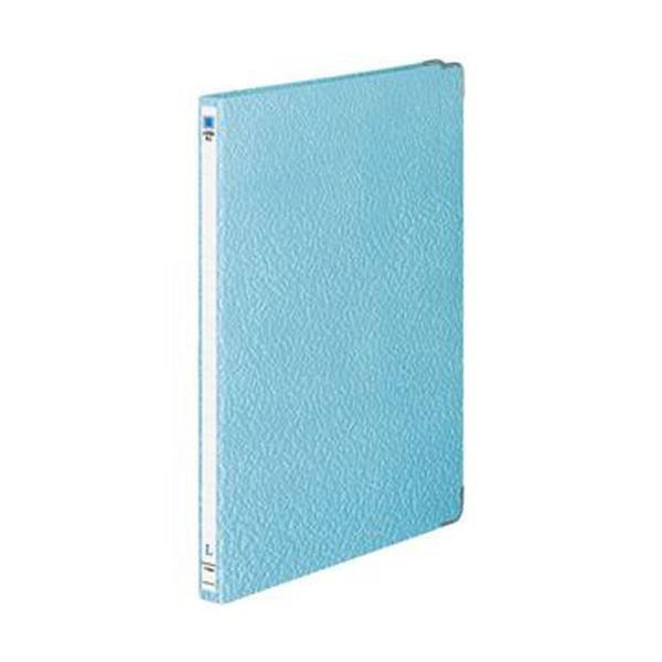(まとめ)コクヨ レターファイル(色板紙)A4タテ 120枚収容 背幅20mm 青 フ-540NB 1セット(10冊)【×3セット】