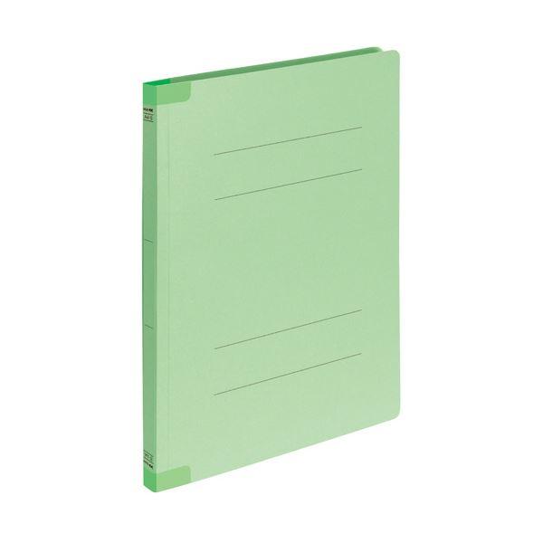 (まとめ) コクヨフラットファイルK2(背補強タイプ) A4タテ 緑 K2フ-BR10GX10 1パック(10冊) 【×30セット】