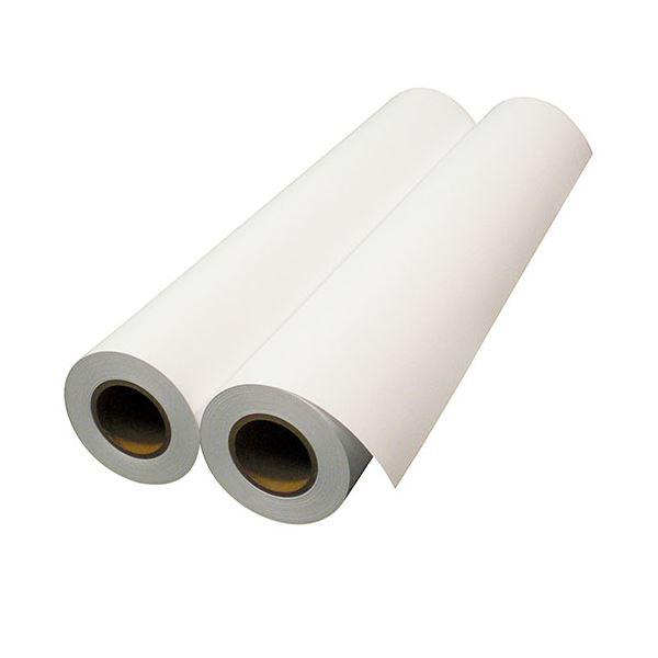 (まとめ)中川製作所 普通紙スタンダードタイプ24インチロール 610mm×45m 0000-208-H12B 1箱(2本)【×3セット】