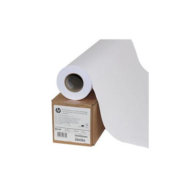 (まとめ)HP スタンダード速乾性光沢フォト用紙24インチロール 610mm×30m Q6574A 1本【×3セット】