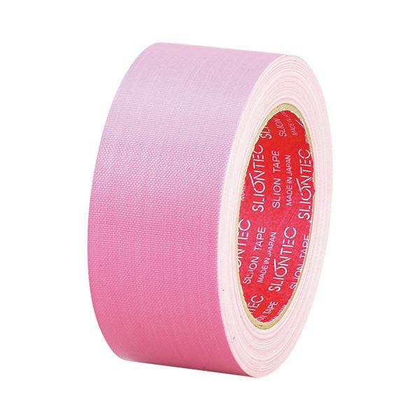 (まとめ) スリオンテック 布粘着テープ No.3390 50mm×25m ピンク No.3390-50PK 1巻 【×30セット】
