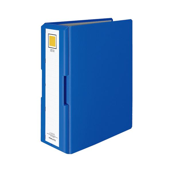 (まとめ) コクヨ 取っ手付きチューブファイル(エコツイン) A4タテ 1000枚収容 背幅115mm 青 フ-UT16100B 1冊 【×10セット】