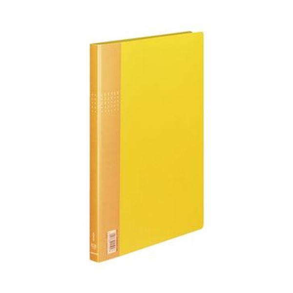 (まとめ)コクヨ レターファイルEX A4タテ120枚収容 背幅21mm 黄 フ-510Y 1セット(10冊)【×3セット】