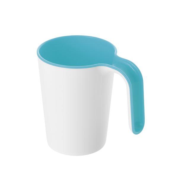 (まとめ) リベロカップ/歯磨きコップ 【ブルー】 容量(約):270ml 銀イオン配合 抗菌効果 洗面グッズ 【×36個セット】