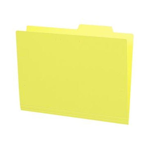 (まとめ)コクヨ 個別フォルダー(カラー・PP製)A4 黄 A4-IFH-Y 1パック(5冊)【×20セット】