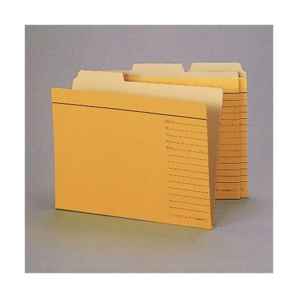 (まとめ)ライオン事務器 カットフォルダー A4判A4-3F-R-30P 1パック(30冊) 【×3セット】
