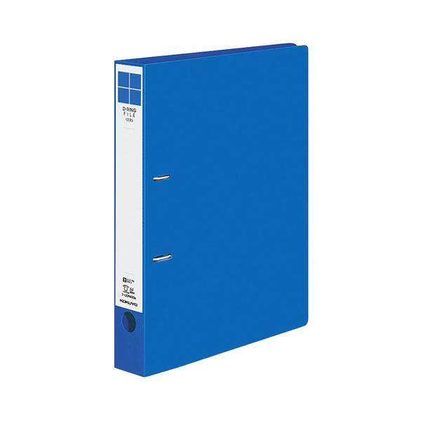(まとめ) コクヨ Dリングファイル(ER) A4タテ 2穴 300枚収容 背幅45mm 青 フ-UDR430NB 1冊 【×30セット】