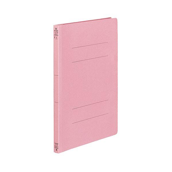(まとめ) コクヨ フラットファイル(ダブルとじ具タイプ) A4タテ 150枚収容 背幅18mm ピンク フ-VD10P 1セット(10冊) 【×10セット】