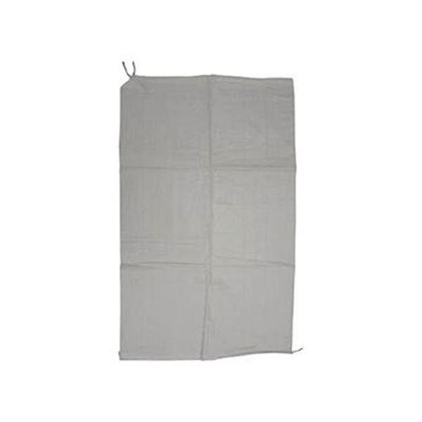 (まとめ)ユタカメイク 収集袋 PP収集袋(乳白)60cm×100cm W-42 1パック(5枚)【×20セット】