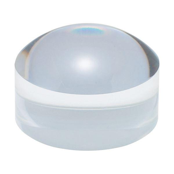 (まとめ) 共栄プラスチック ドーム型ブロックルーペクリア BDL-1500 1個 【×10セット】