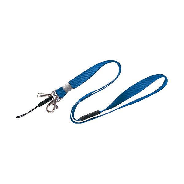 (まとめ) ソニック 吊下げひも 多機能型 青NF-518-B 1セット(5本) 【×10セット】