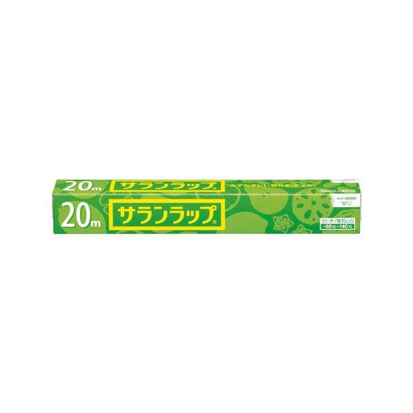 (まとめ) 旭化成ホームプロダクツ サランラップ レギュラー30cmx20m 20本【×3セット】