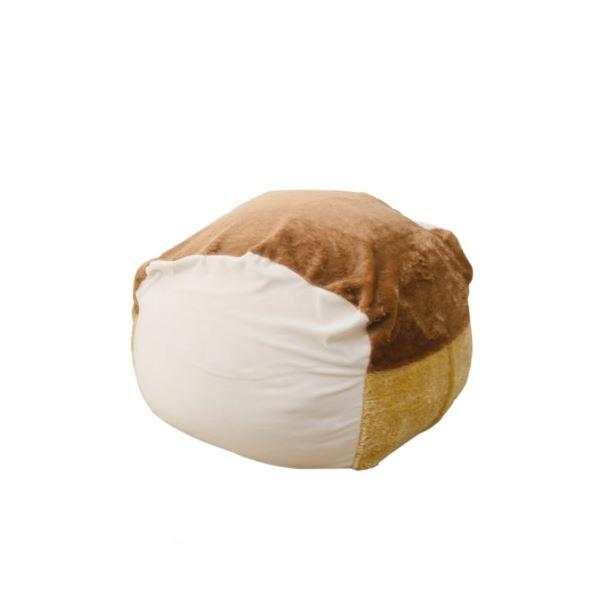 食パンビーズクッション Mサイズ 1人掛け【代引不可】