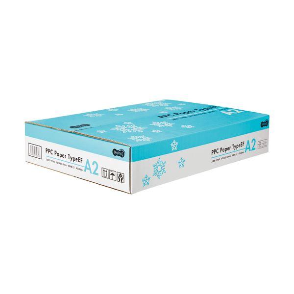(まとめ)TANOSEE PPC PaperType EF A2 1箱(1000枚:500枚×2冊)【×3セット】