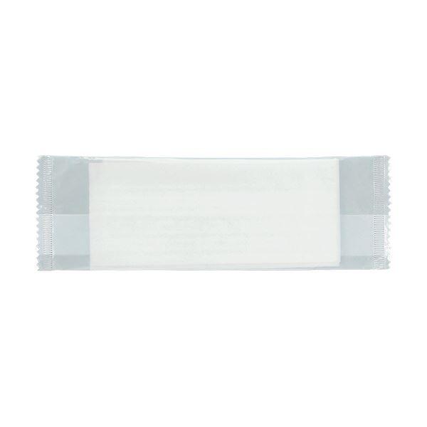 TANOSEE パルプ不織布おしぼり平型 1200枚入(50枚×24P) 【×10セット】