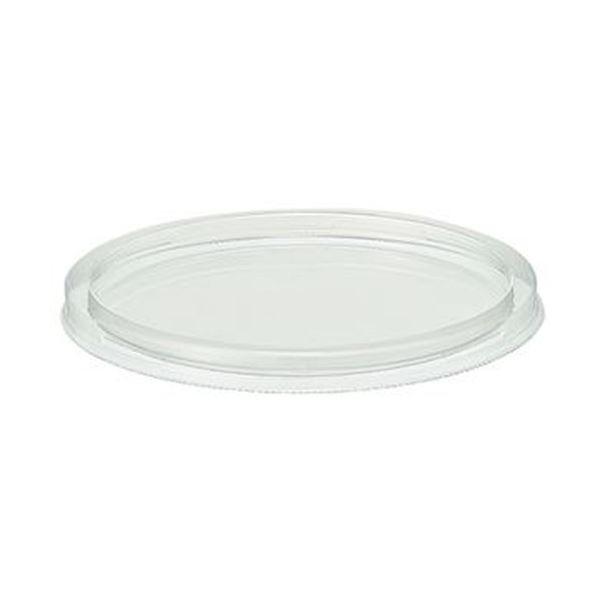 (まとめ)エフピコチューパ PCカップ 120ml TC蓋 PC-120TCフタ 1パック(50枚)【×50セット】