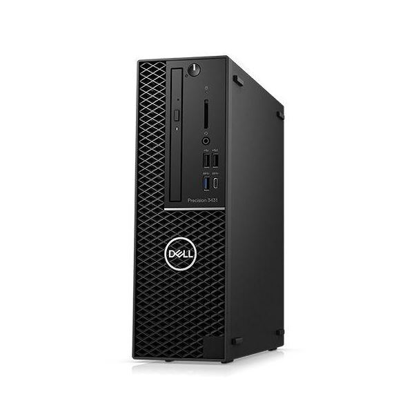 DELL Precision Tower 3431(Windows 10 ProWorkstations/16GB/Xeon E-2224G/256GB/P1000/3年保守/Officeなし) DTWS017-012N3